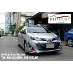 ชุดแต่ง สเกิร์ตรอบคัน Toyota Yaris Ativ 2017-2018 ทรง Ps Sport