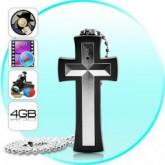 กล้องไม้กางเขน (สไตล์ นักสืบ) 4GB 30 FPS Resolution 640x480 Pixels