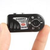 กล้องจิ๋ว รุ่น HD Night vision+ถ่ายวีดิโอระหว่างชาร์จไฟได้ 30 FPS 1920x1080 Pixels รองรับสูงสุด 32GB