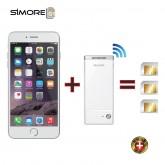 G1 BlueBox แบรนด์ SIMORE เปลี่ยน iPhone ของคุณให้เป็น Smart Phone ที่ใช้งานได้ถึง 3 ซิมพร้อมกัน