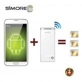 G2 BlueBox SIMORE เปลี่ยน Android smartphone , Tablet, iPad ให้เป็นมือถือใช้งานได้ถึง 3 ซิมพร้อมกัน