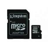 Kingston Micro SD Card Class 4 - 32GB with Adapter เหมาะใช้กับ กล้องดิจิตอล และ Smart Phone