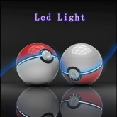 Pokemon Go Ball Power Bank 12,000mAh + Dual USB and LED Flashlight