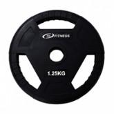 แผ่นน้ำหนักโอลิมปิกหุ้มยาง น้ำหนัก - 1.25KG/MB-12103 1.25KG
