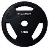 แผ่นน้ำหนักโอลิมปิกหุ้มยาง น้ำหนัก - 2.5KG/MB-12103 2.5KG