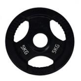 แผ่นน้ำหนักโอลิมปิกหุ้มยาง น้ำหนัก - 5KG/MB-12103 5KG