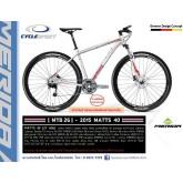 จักรยานเสือภูเขา MERIDA Matts 40 ,27สปีด ปี 2015