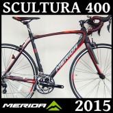 จักรยานเสือหมอบ MERIDA SCULTURA 400 กรุ๊บเซท 105 11SP 2015