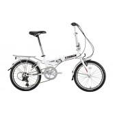 จักรยานพับได้ TRINX เกียร์ 6 สปีด ไม่มีโช้ค โครงเหล็ก ล้อ 20 นิ้ว ,KS2006