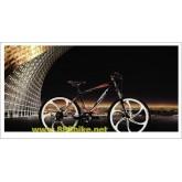 แม็กจักรยาน 6 ก้าน 26นิ้ว แบบใส่ดิสก์ มีเกียร์ รองรับ 7-10 สปีด