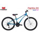 จักรยานเสือภูเขา Haro Flightline 24 ,เฟรมอลู 18 สปีด ปี 2016