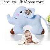 หมอนนอนเด็ก หมอน หัวทุย Baby Pillow Prevent Flat Head ดีไซน์ ช้าง