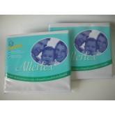ปลอกหมอนสำหรับป้องกันภูมิแพ้จากไรฝุ่น 2 ใบ สีขาว  -  2  Pillow  Cases (White)