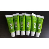 Zeniton ยาสีฟันออร์แกนิคสำหรับเด็ก 15g มีFluoride (สีเขียว)
