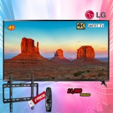 49 LG UHD TV 4K Smart TV รุ่น 49UK6320 แถมรีโมทเมจิก+ขาแขวนติดผนัง