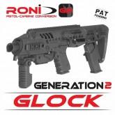 ชุดประกอบปืน Glock RONI G2 สีดำ