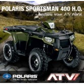 รถ ATV POLARIS SPORTSMAN 400ho 4X4