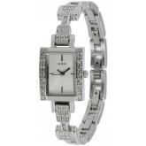นาฬิกาข้อมือ GUESS รุ่น U85131L1 Divine Silver Dial Stainless Steel Ladies  ^^ แท้ ประกันร้าน ^^