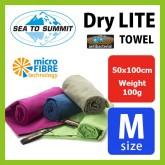 ผ้าเช็ดตัวแห้งเร็ว Sea To Summit Dry Lite Towel Antibacterial Size M