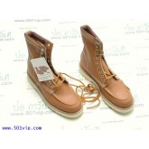 New Roebucks Spice tan boot หนัง made in China ปี 2000 size 8 .5