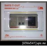 ตู้ไฟ,ตู้คอนซูเมอร์ 6ช่อง พร้อมเมนส์16A ลูก2ตัว  ครบชุด เซฟทีคัท Safe T cut