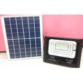 โคมไฟ สปอร์ตไลท์ พลังงานแสงอาทิตย์ LED solarcell 150 วัตต์ แสงขาว รับประกัน1ปี