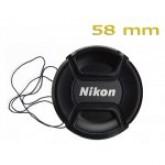 ฝาปิดเลนส์นิคอน 58 มม./NIKON LENS CAP 58mm.