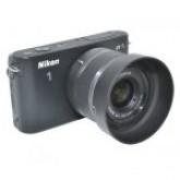 ฮูดสำหรับเลนส์ Nikon รหัส LH-N101 JJC Lens Hood for Nikon ฮูดนิคอน1 สำหรับเลนส์ Nikon 1 Nikkor 10-30