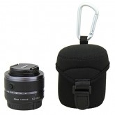ถุงใส่เลนส์ Mirrorless ขนาด D62mm x H68mm JJC รหัส JN-M Medium Neoprene Lens Pouch for Olympus M.Zui