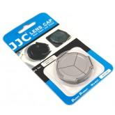 ฝาปิดเลนส์ อัตโนมัติ Panasonic DMC-LX5 , Lumix LX5 , LEICA D-LUX5 JJC Auto Lens Cap ALC-5W สีเงิน ฝา