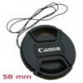 ฝาปิดเลนส์แคนนอน ขนาด 58 มม./CANON LENS CAP 58mm.