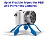 Splat Flexible Tripod for PS and Mirrorless Cameras   ออกแบบมาสำหรับกล้อง Mirrorless และ Compact