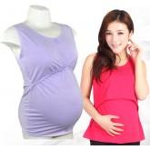 เสื้อคุณแม่มีท้อง แบบมีกระดุม 1 ตัว แถม 2 ตัว