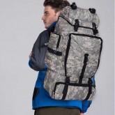 กระเป๋าเป้สะพายหลังลายทหาร ขนาด 70 L