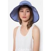 หมวกกันยูวี หมวกกันแดด AYAKO สีน้ำเงิน