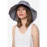 หมวกกันยูวี หมวกกันแดด AYAKO สีเทา