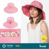 หมวกกันยูวี NAOMI สีชมพู