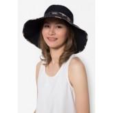 หมวกกันยูวี NAOMI สีดำ