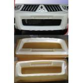แผงหน้างานพลาสติกสำหรับรถ Pajero Sport