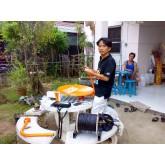 ภาพการติดตั้ง จาน IPM 60 cm+Ipm Clear หมู่ บ้าน นพวรรณ ลำพูน