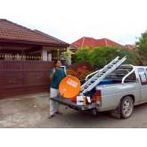 ภาพการติดตั้ง จาน IPM 60 cm+Ipm Clear หมู่ บ้าน ลำพูนคันทรีโฮม