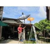ช่าง ผึ้ง ติดตั้ง จานส้ม IPM 60 cm+IPM Clear-Duo Psi 1.5 บ้านแซม ป่าซาง ลำพูน