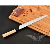 #มีดเชฟ ญี่ปุ่น Yanagiba (sushi & sashimi knife) ใบมีดยาว 27 เซ็นติเมตร ด้ามจับไม้ Japanese Fish Kni