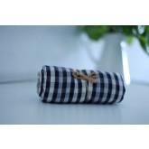 ผ้าพันคอ ผ้าขาวม้า PA PHEN ลายสก๊อตสีดำ (ลายเล็ก)