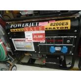 เครื่องปั่นไฟ เบนซิล 6000KW15HP POWER-JET8200ES/N-TEC