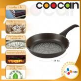 กระทะเคลือบผงเพชร ขนาด 28 ซม. คูแคน (Coocan Frying Pan 28 cm.) CJ IMC