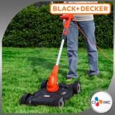Black+Decker เครื่องเล็มหญ้าไฟฟ้า 3 in 1 GL4525CM