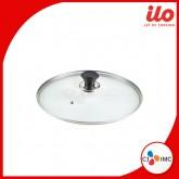 ILO Titanium Glass Lid อิลโล่ ฝากระทะ 22 ซม.