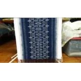 ผ้าคลุมไหล่ลายกุญแจ (by ผลิตภัณฑ์จากผ้าย้อมครามธรรมชาติ)