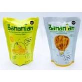 กล้วยทอดอบกรอบ รวมรส (หวานธรรมชาติ วนิลาบัตเตอร์) Set 4 ซอง (by Bananian)